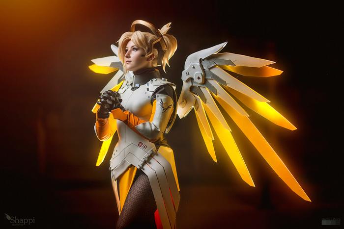 Overwatch Mercy Ангел
