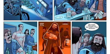 Комикс: Гарри. Пролог