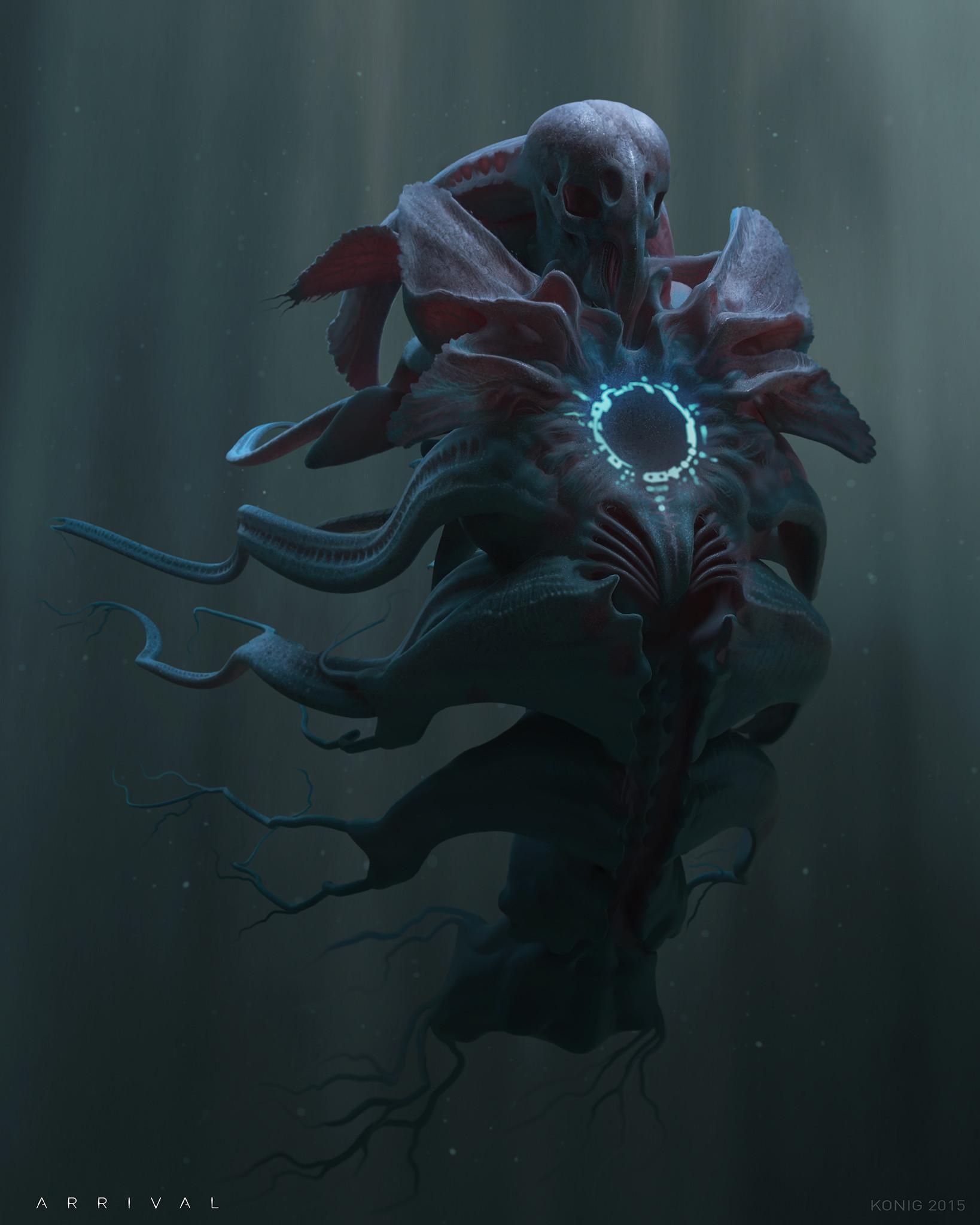 Так могли выглядеть инопланетяне из «Прибытия»
