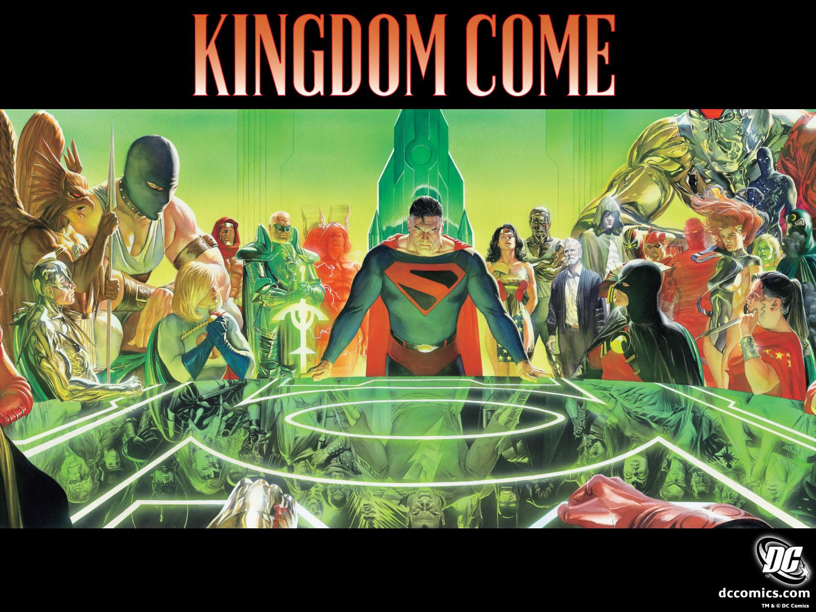 «Азбука» анонсировала выход графического романа Kingdome Come на русском языке