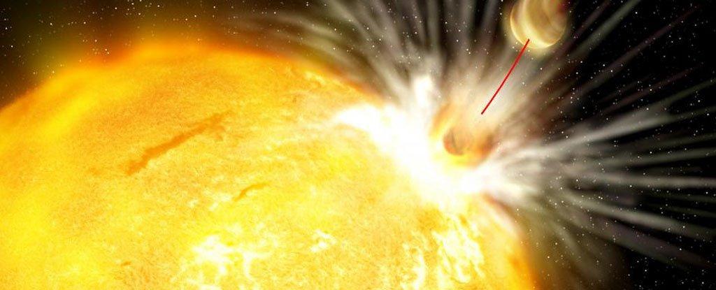 В далёкой галактике учёные обнаружили «Звезду смерти», уничтожившую экзопланету