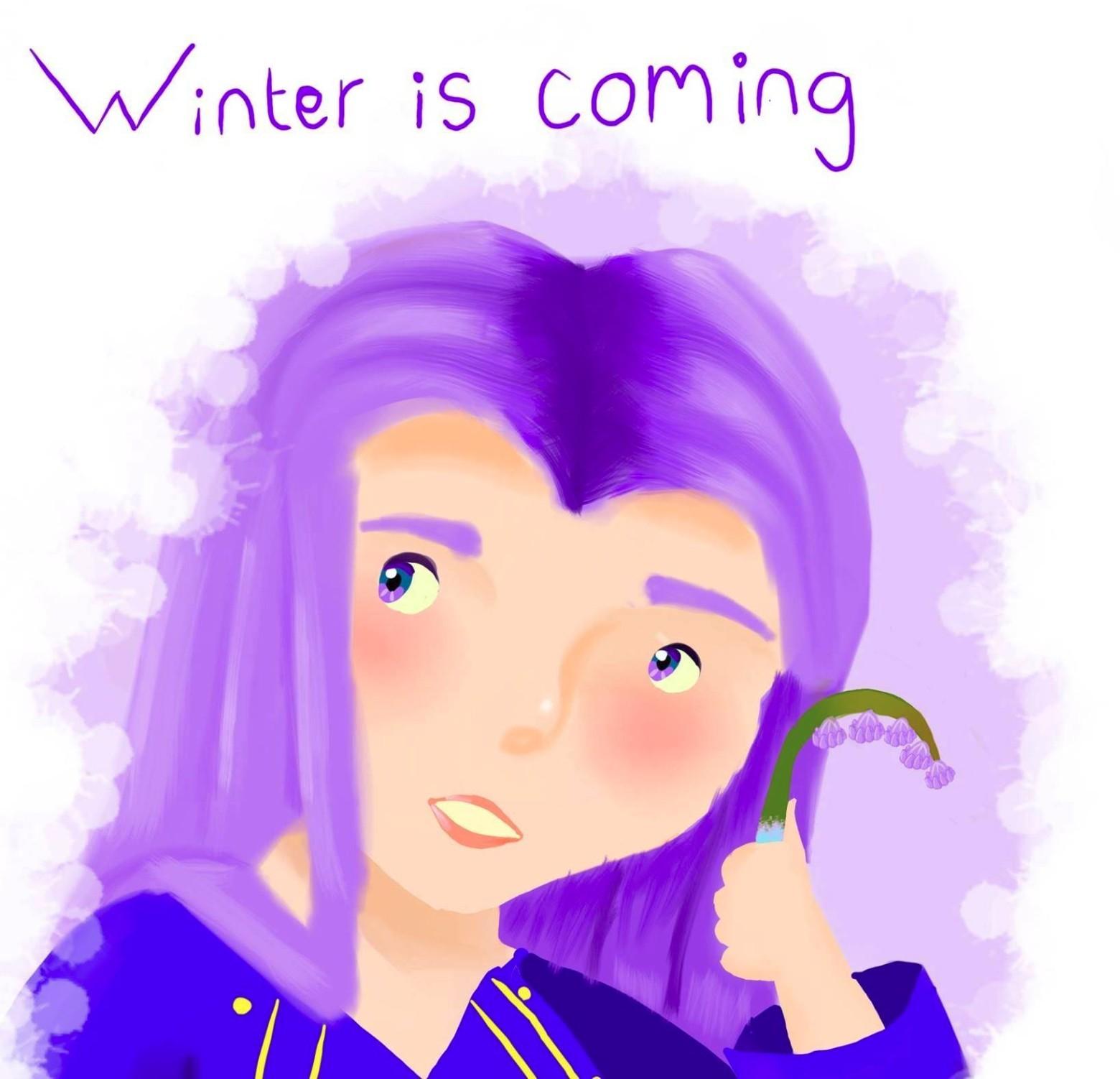Вот этот рисунок потребовала удалить HBO из-за надписи «Зима близко»