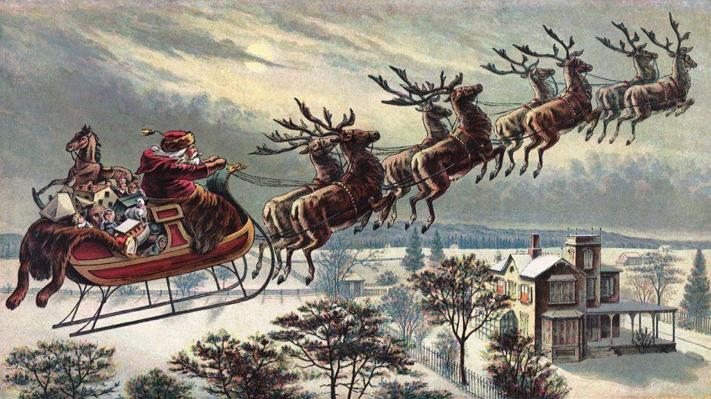 Синтерклаас. Санта Клаус