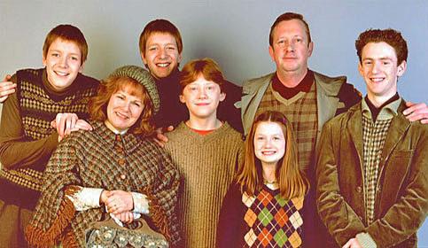 Фанаты нашли сведения о сводной сестре Уизли из «Гарри Поттера»