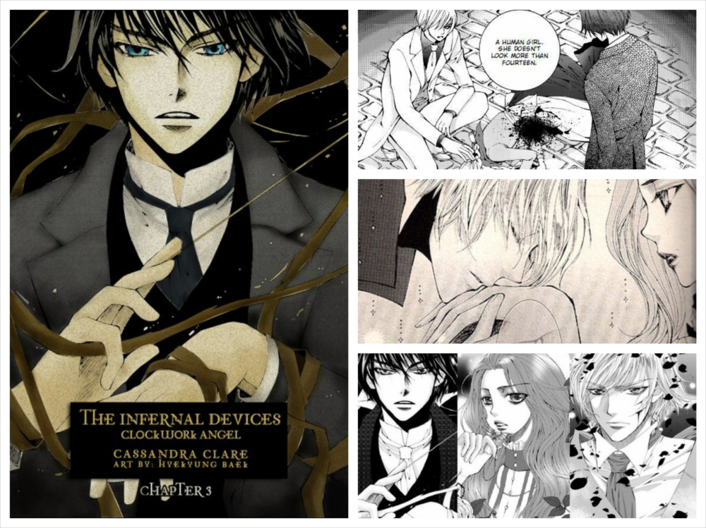Кассандра Клэр, Пэк Хё Гён, The Infernal Devices