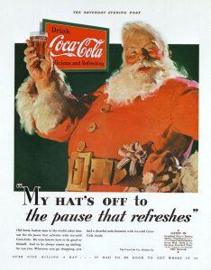 Санта-Клаус Coca Cola