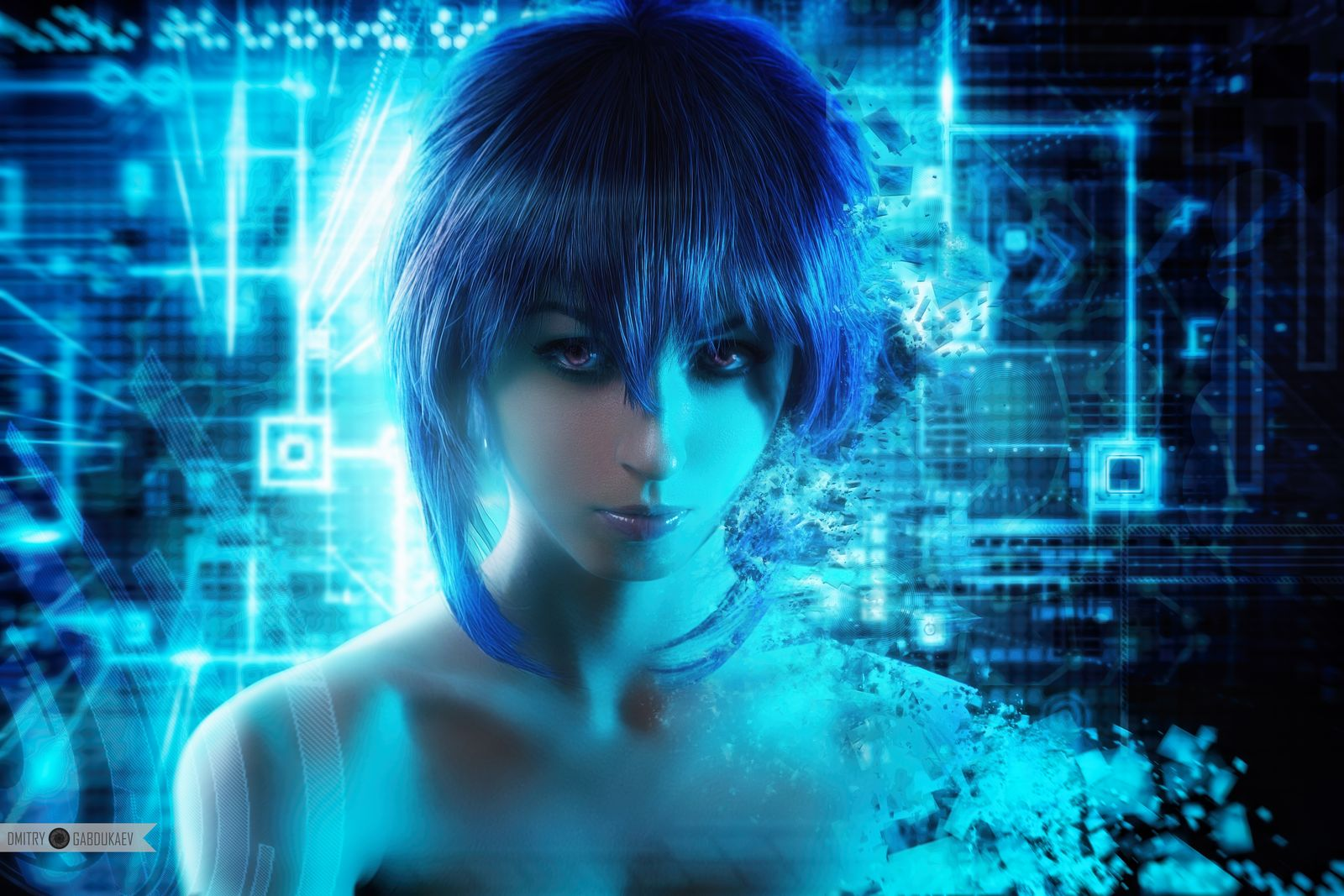 Motoko Kusanagi (Ghost in the Shell) / Лера Химера