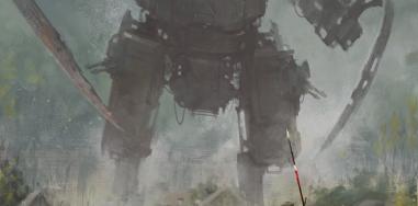 Художник Якуб Розальски и его боевые роботы 18