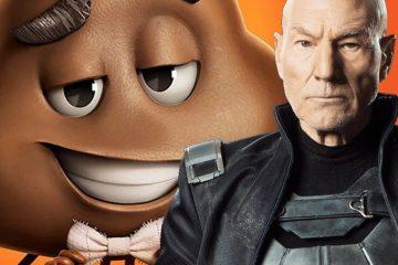 Британский актёр Патрик Стюарт озвучит смайлик какашки в «Эмодзи»