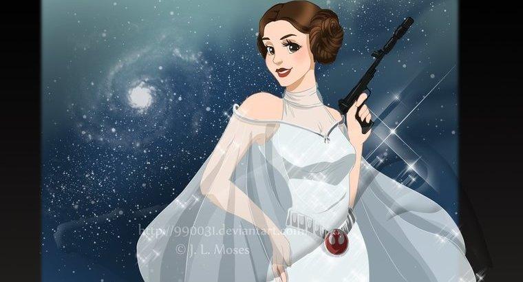 Поклонники Кэрри Фишер просят признать Лейю принцессой Disney