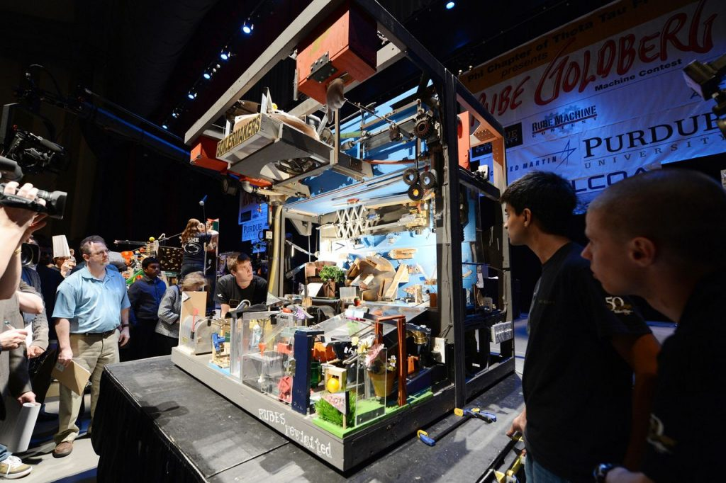 Rube Goldberg Contest