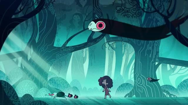 Короткометражка: «Тёмный-тёмный лес»