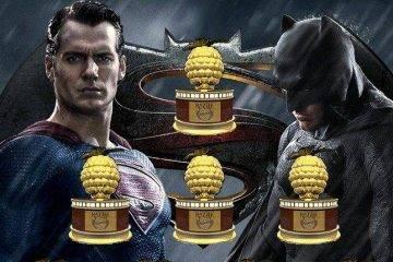«Бэтмен против Супермена» взял 4 «Золотых малины»