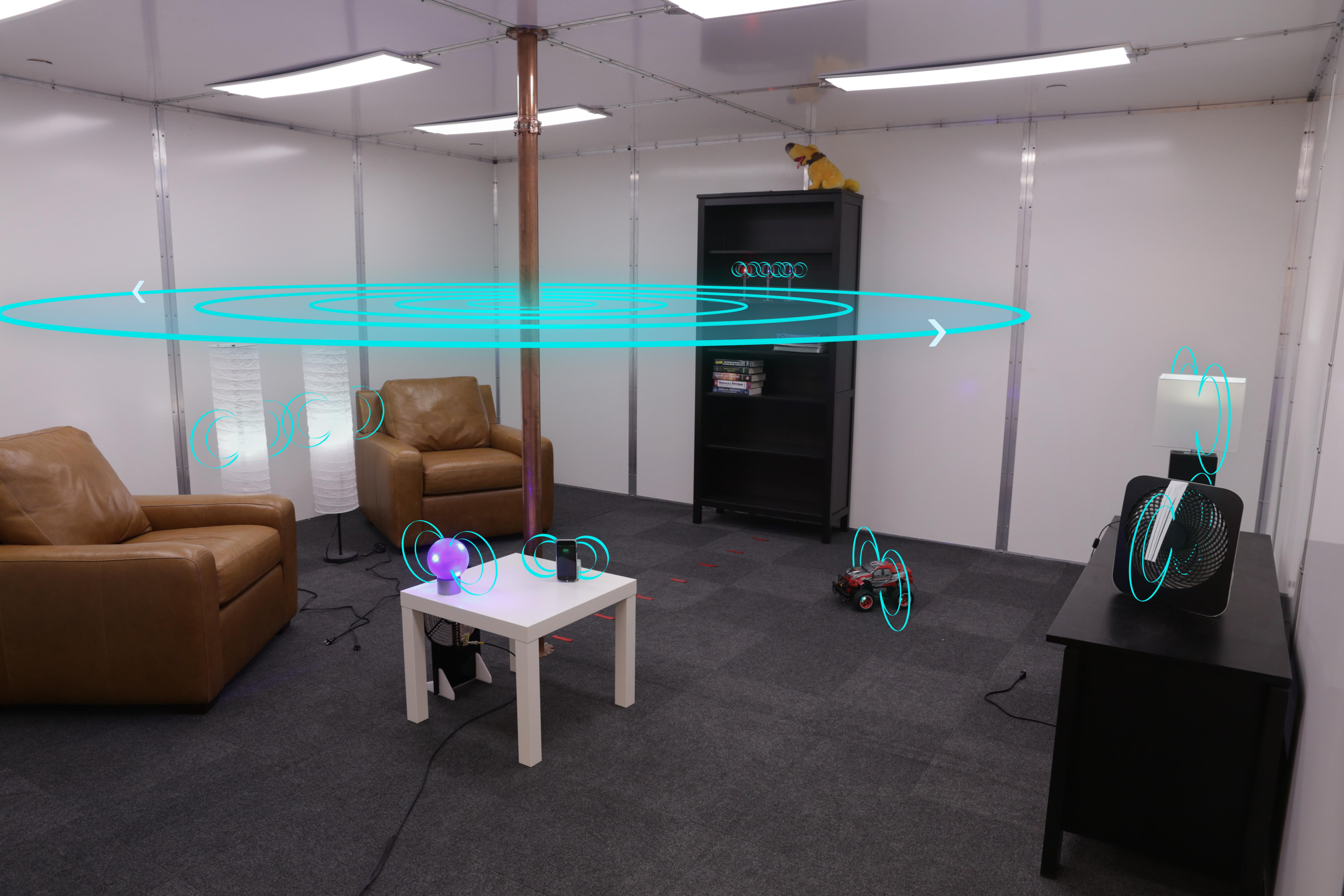 Инженеры Disney создали комнату беспроводной зарядки девайсов