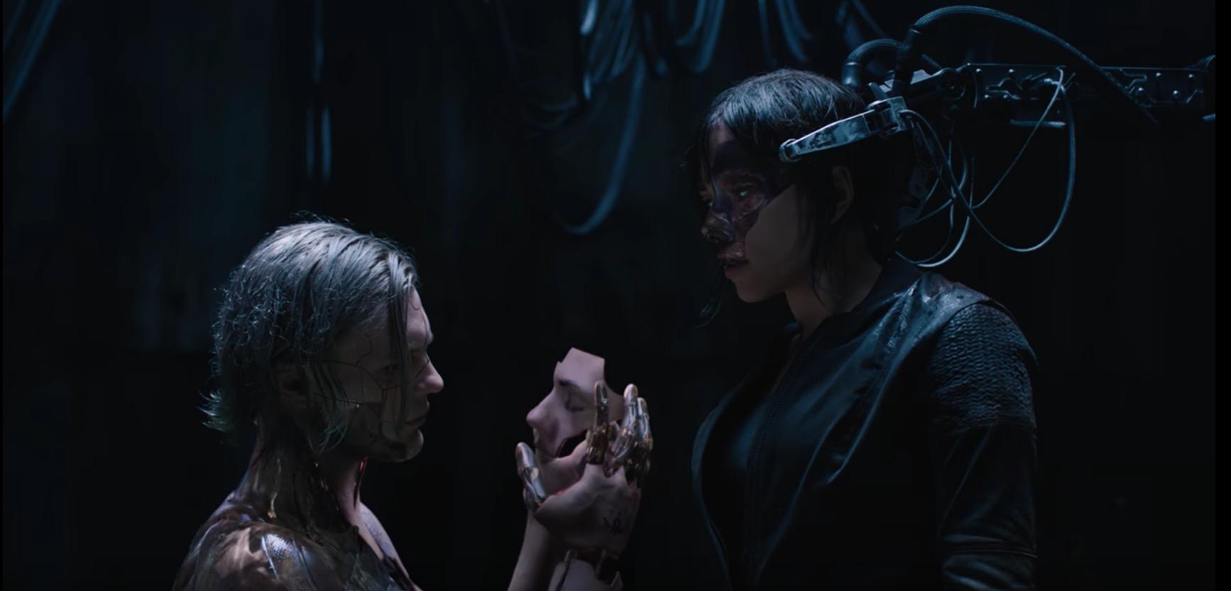 В трейлере «Призрака в доспехах» показали злодея 1