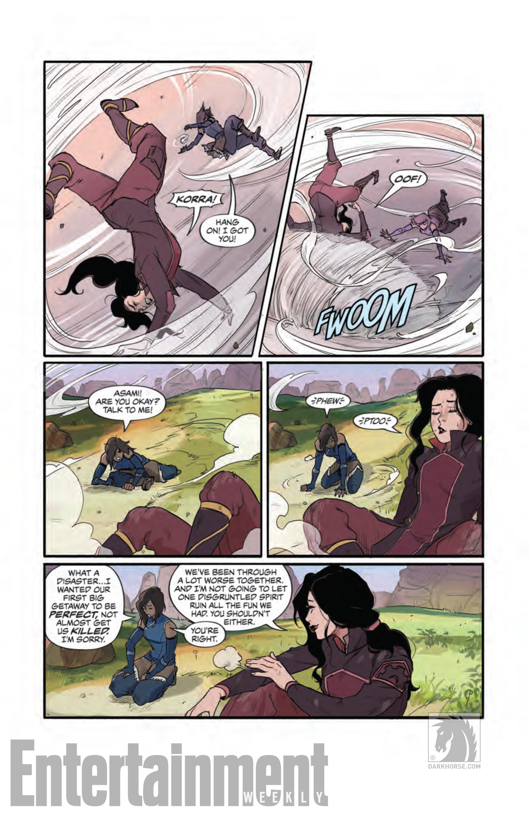 Вот что было дальше с Коррой и Асами из «Легенды о Корре» 8