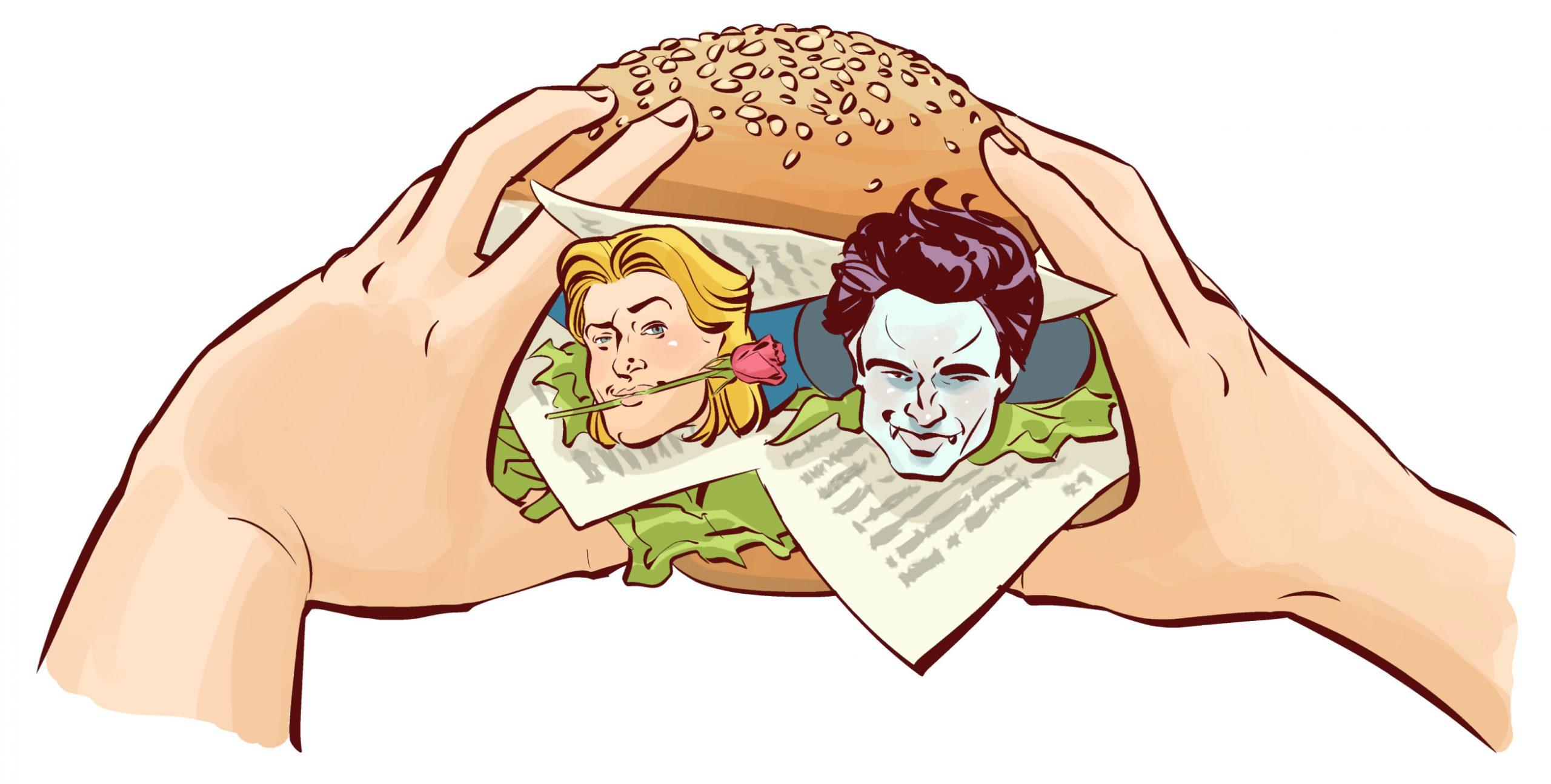 Что такое литературный лавбургер?