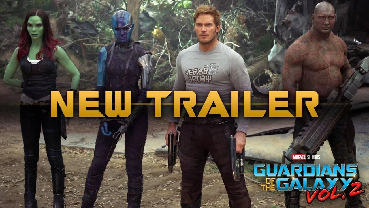 «Питер, я твой отец»: новый трейлер «Стражей галактики 2»