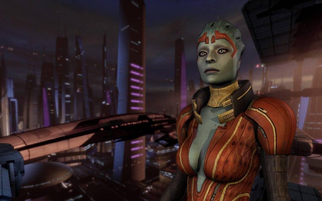 Истоки вселенной Mass Effect 2