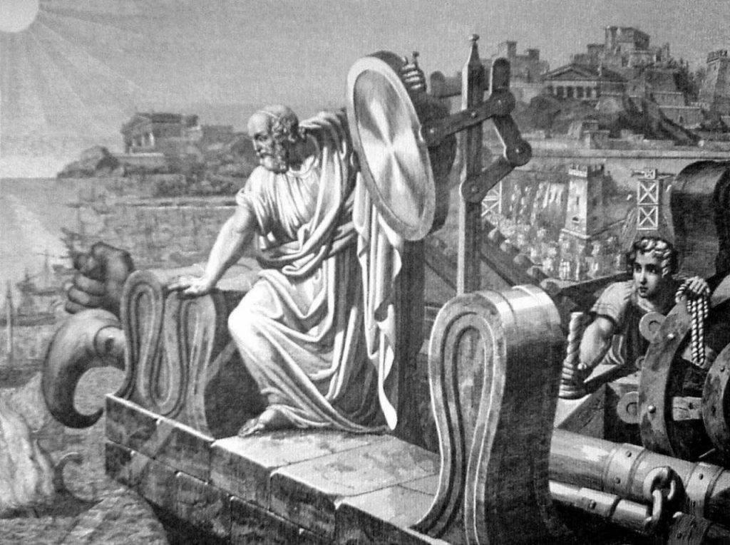Лучи Архимеда