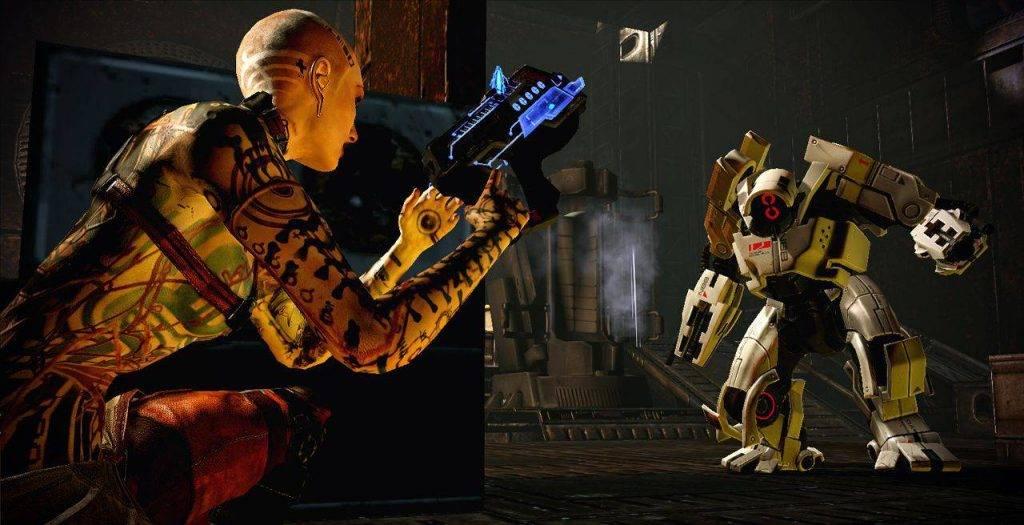 Истоки вселенной Mass Effect 1