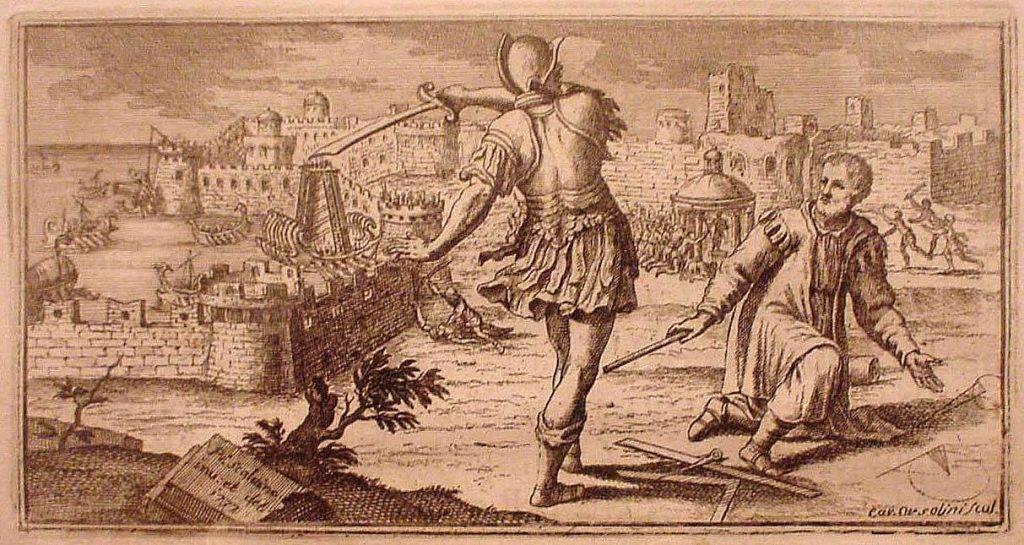 Смерть Архимеда.