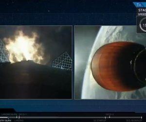 SpaceX впервые в истории повторно посадила многоразовую ракету
