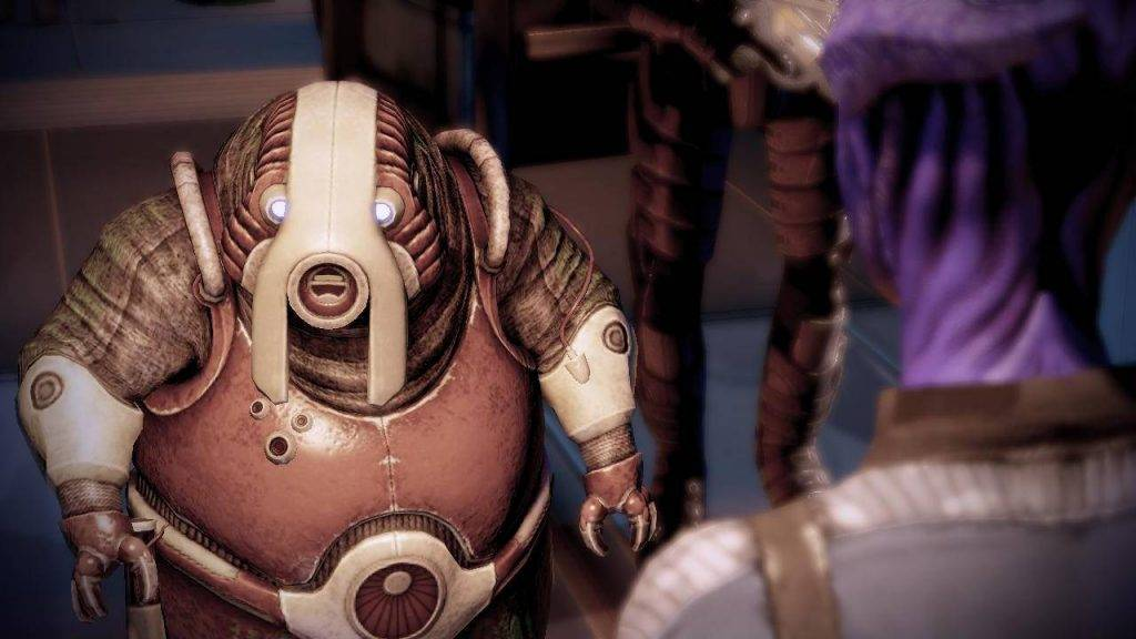 Истоки вселенной Mass Effect 12