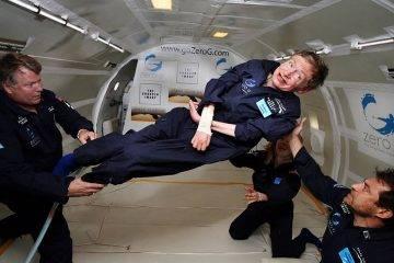 Стивен Хокинг отправится в космос