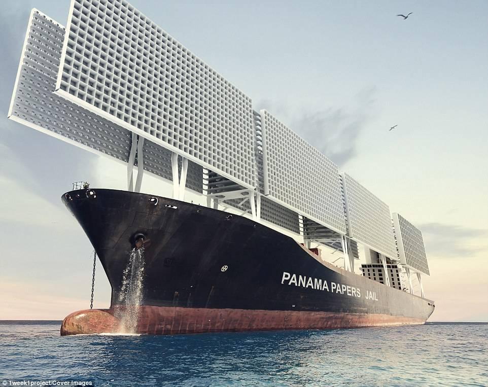 Архитекторы создали концепт корабля-тюрьмы с открытыми камерами 3