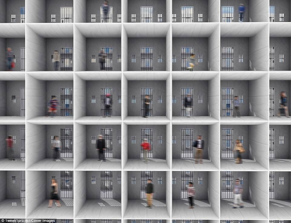 Архитекторы создали концепт корабля-тюрьмы с открытыми камерами 4