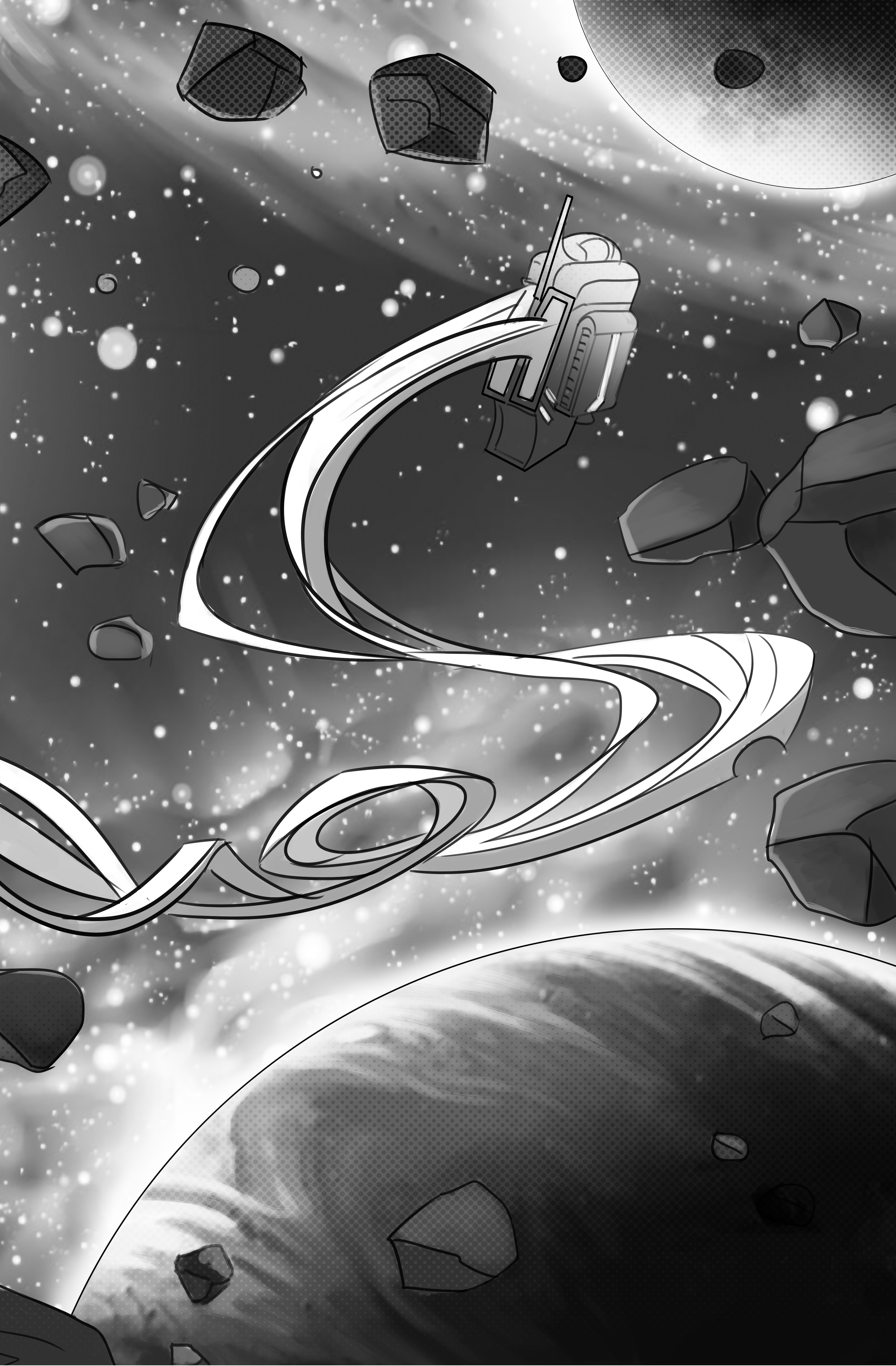 Две рисованные истории из сборника комиксов «Вторая ступень» 14