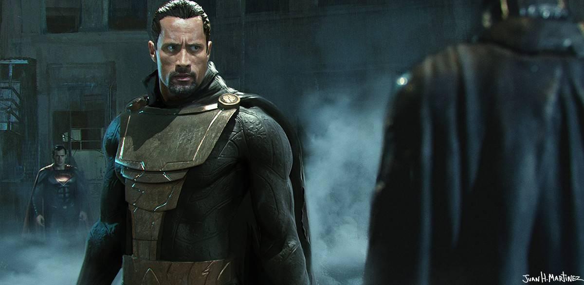 Слух: Дуэйн Джонсон может сыграть противника Супермена во второй части «Человека из стали»
