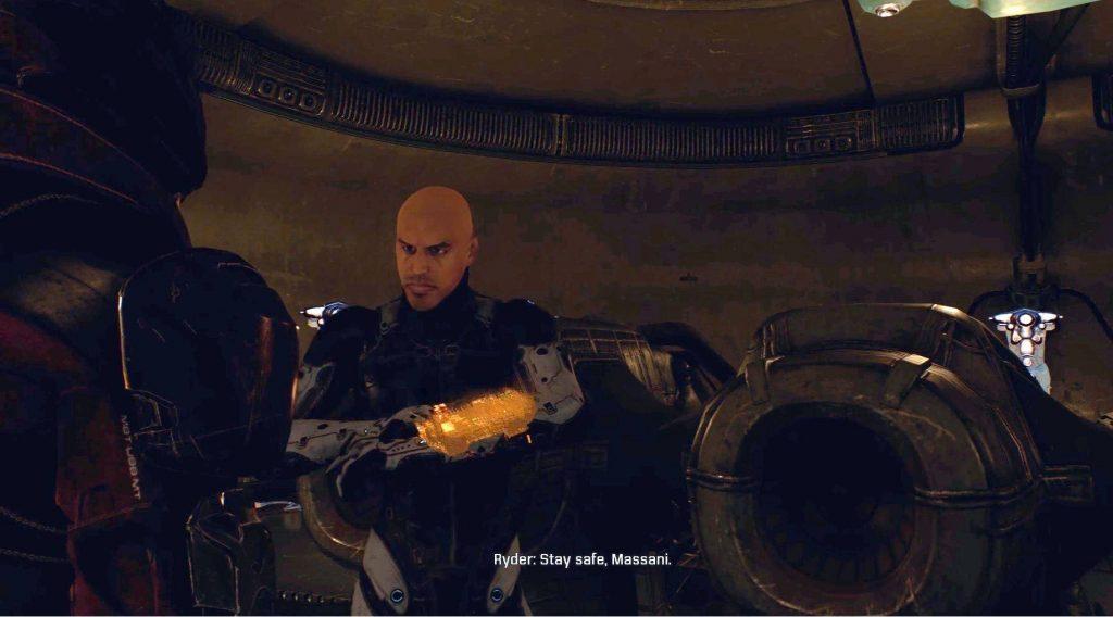 Пасхалки и отсылки в Mass Effect: Andromeda 5