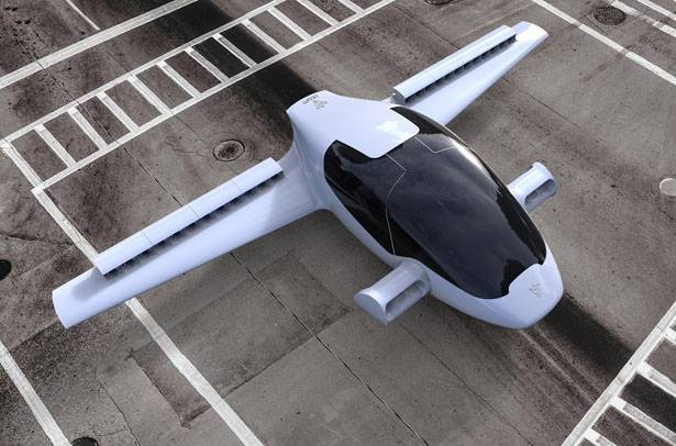 ВГермании протестировали летающий электромобиль свертикальным взлетом
