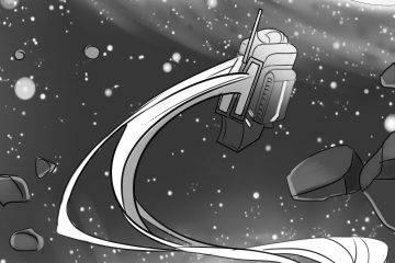 Две рисованные истории из сборника комиксов «Вторая ступень»