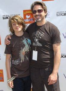 Роберт Дауни младший и сын