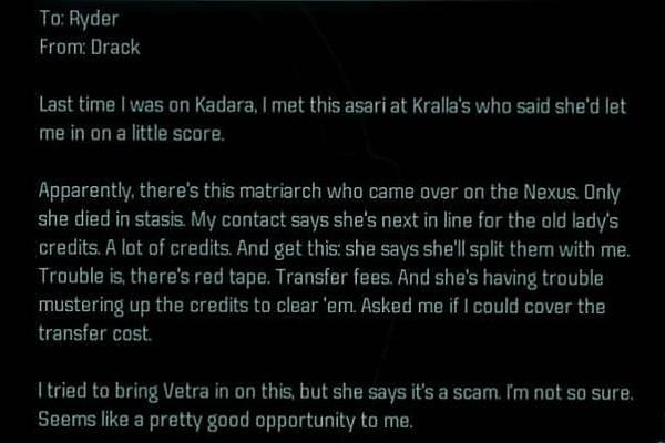 Пасхалки и отсылки в Mass Effect: Andromeda 3
