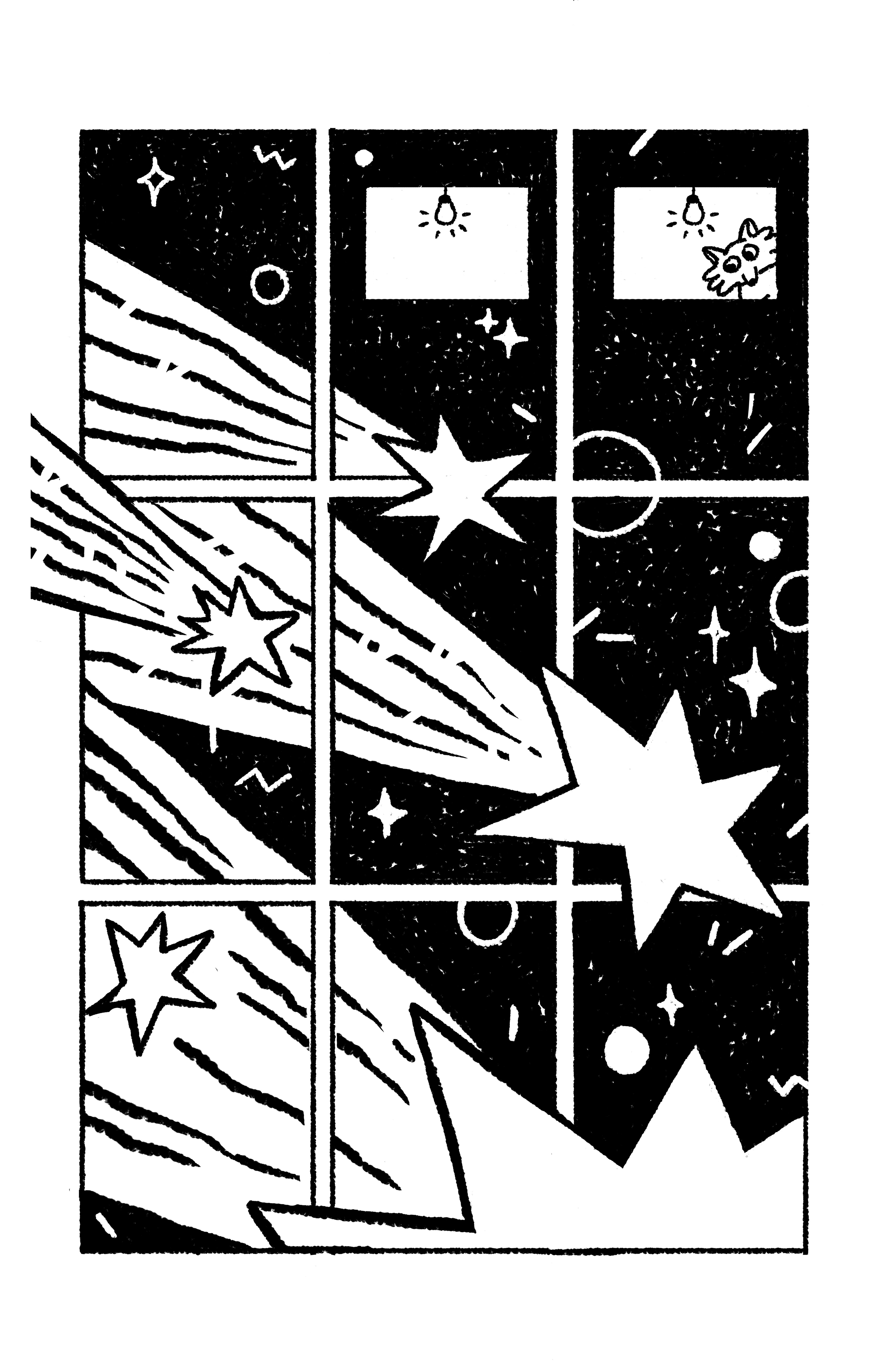 Две рисованные истории из сборника комиксов «Вторая ступень» 1