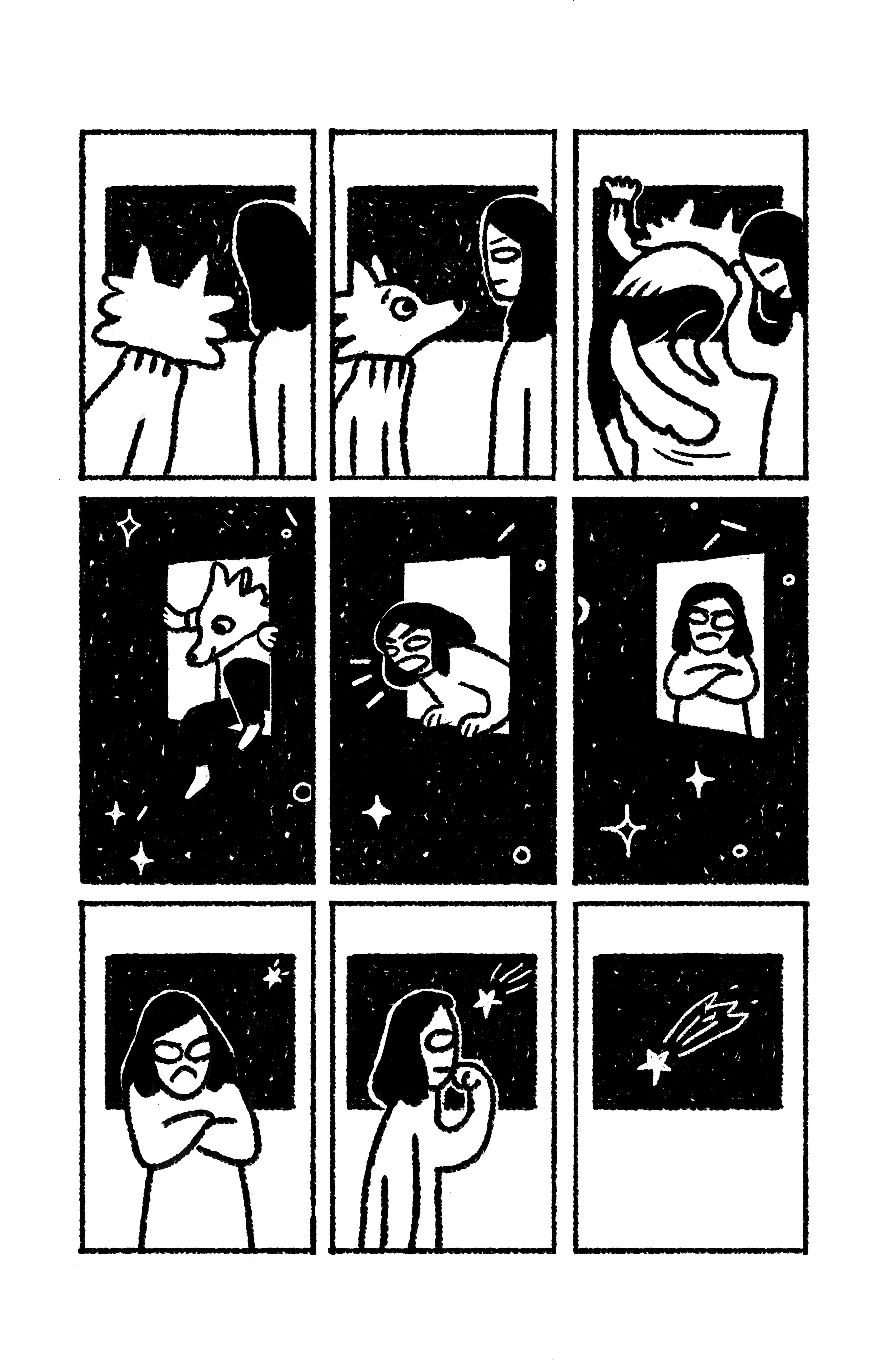 Две рисованные истории из сборника комиксов «Вторая ступень» 2