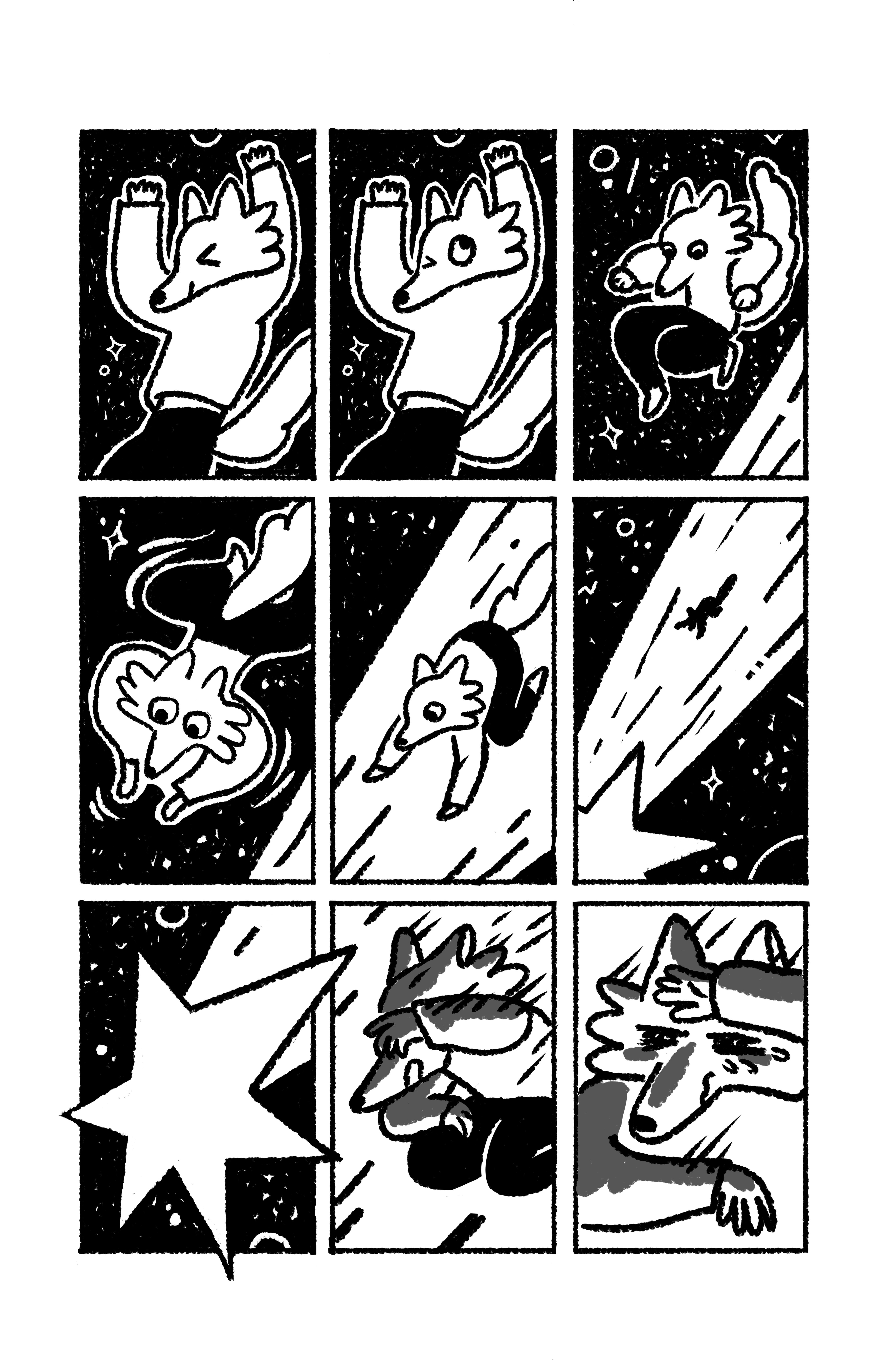 Две рисованные истории из сборника комиксов «Вторая ступень» 3