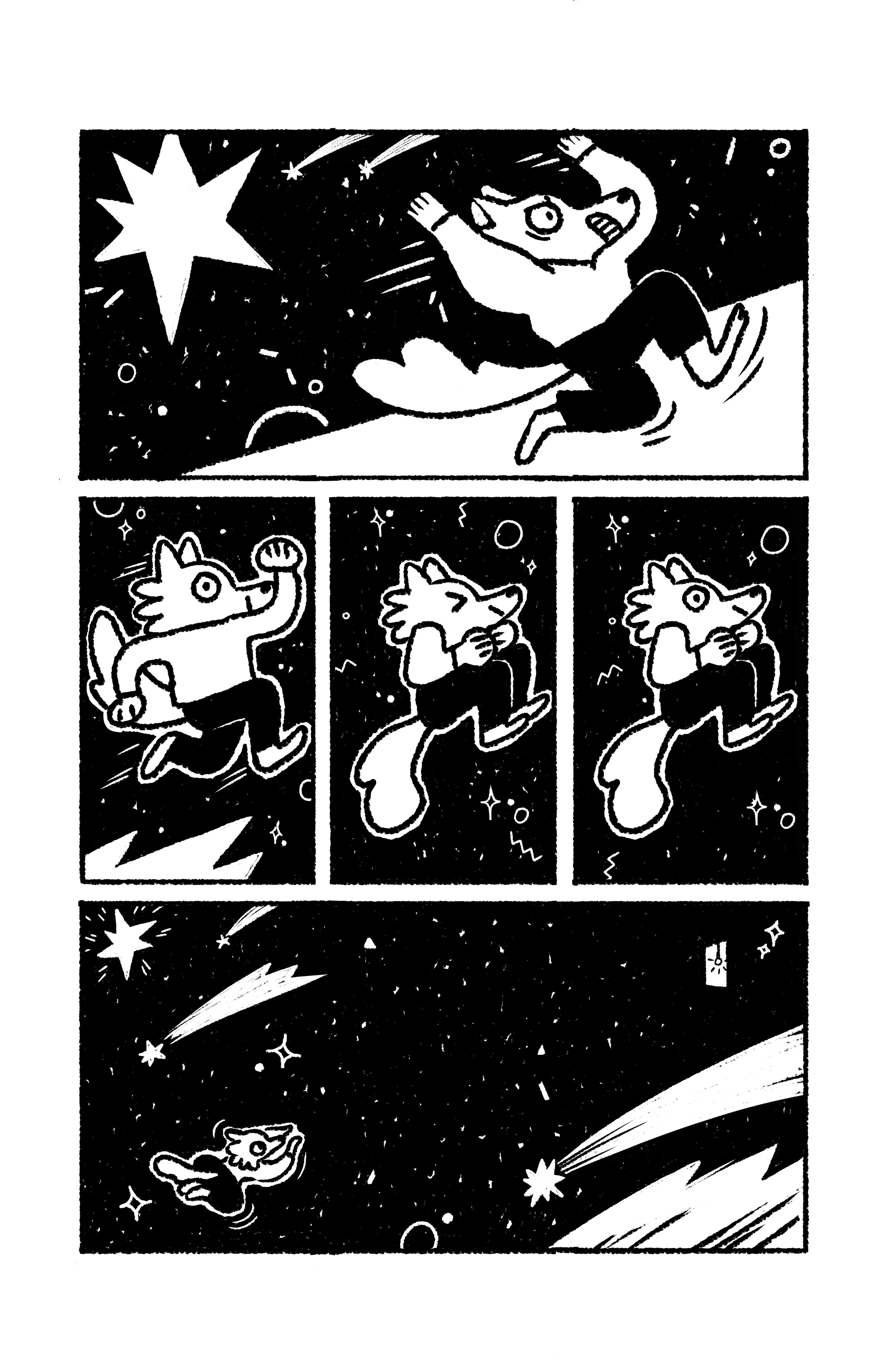 Две рисованные истории из сборника комиксов «Вторая ступень» 5