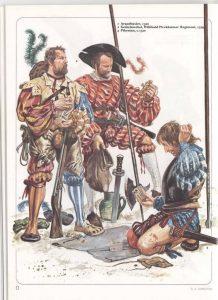 Время мушкетёров. Тактика европейских армий XVIIвека 1