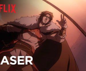Вышел первый тизер мультсериала Castlevania от Netflix