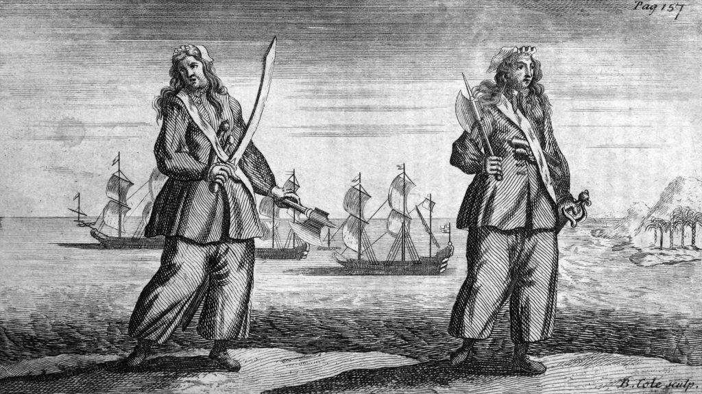 Женщина пират