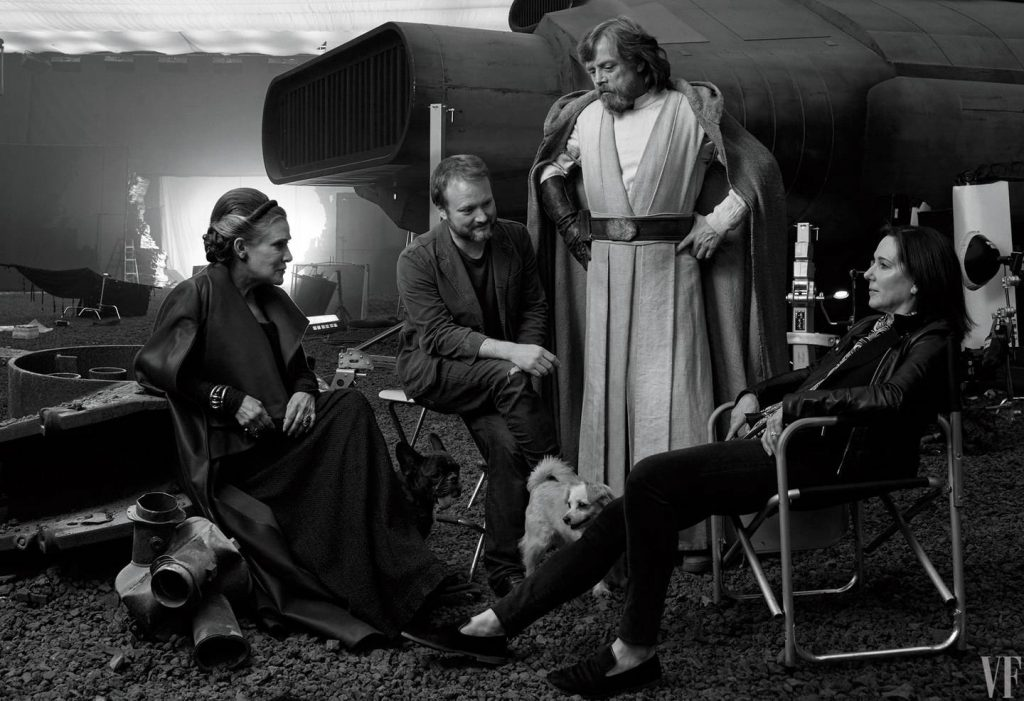 На новых фотографиях со съёмок «Последних джедаев» показали Бенисио Дель Торо 7