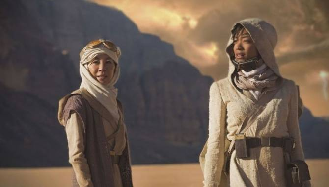 Что показали в трейлере сериала «Звёздный путь: Дискавери 1