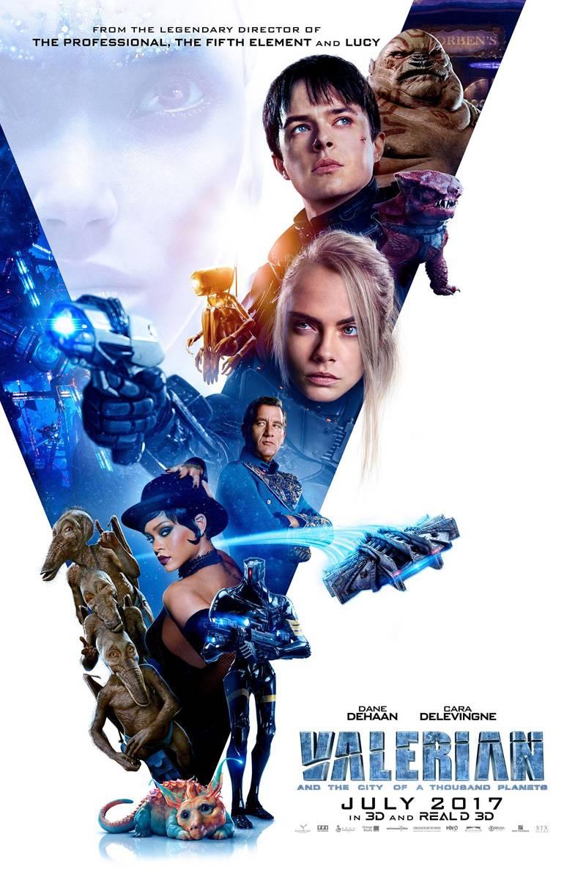 На постере фильма «Валериан игород тысячи планет» заметили отсылку к«Пятому элементу»