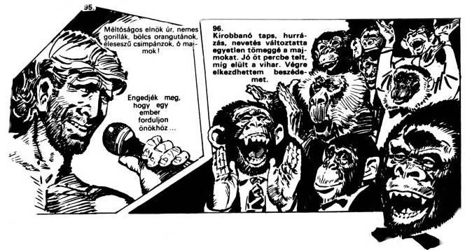 Безумные черновики «Планеты обезьян» 13