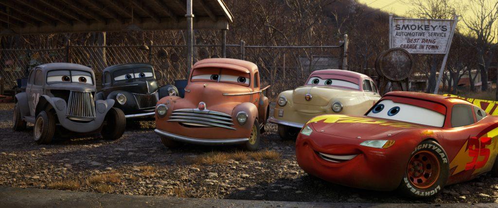 «Тачки 3» и NASCAR: наш человек на презентации Pixar 21